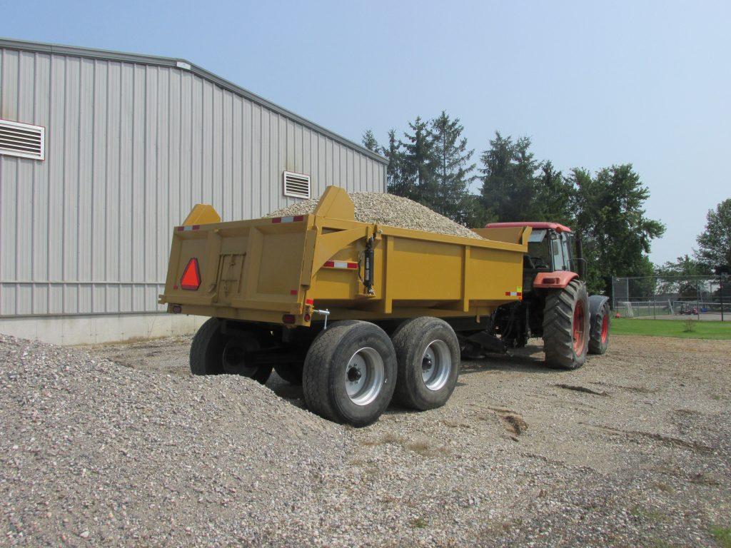 16 Ton Farm Dump Trailer