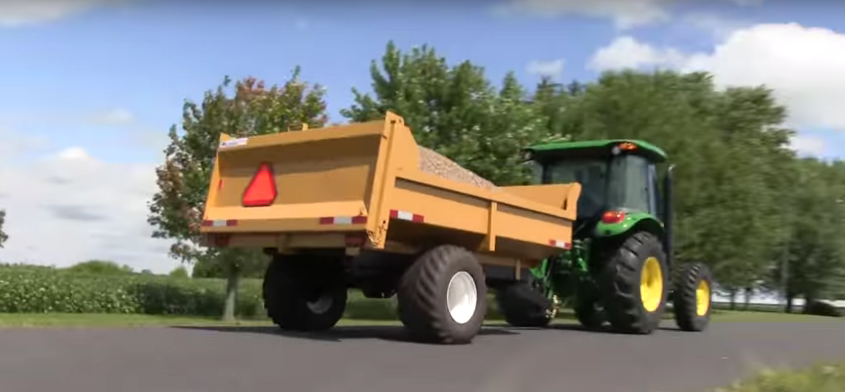 6 Ton Farm Dump Trailer