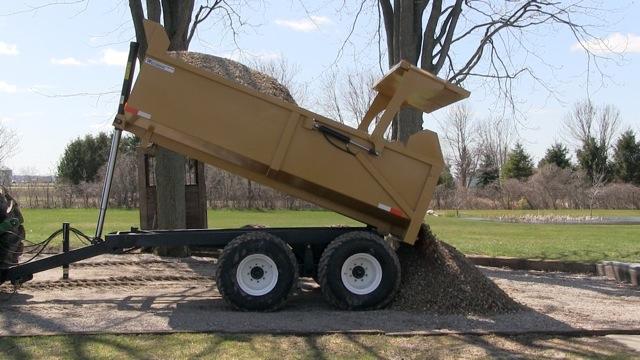 12 Ton Farm Dump Trailer