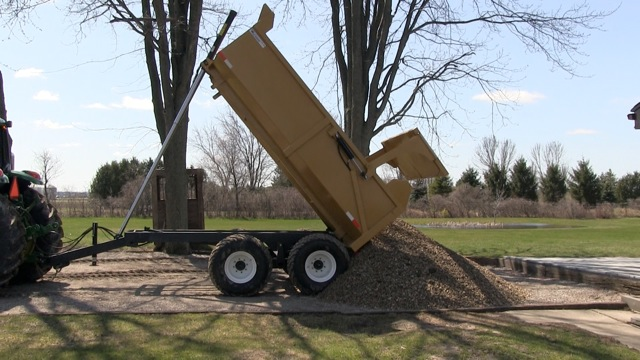 12 Ton Farm Dump Trailer
