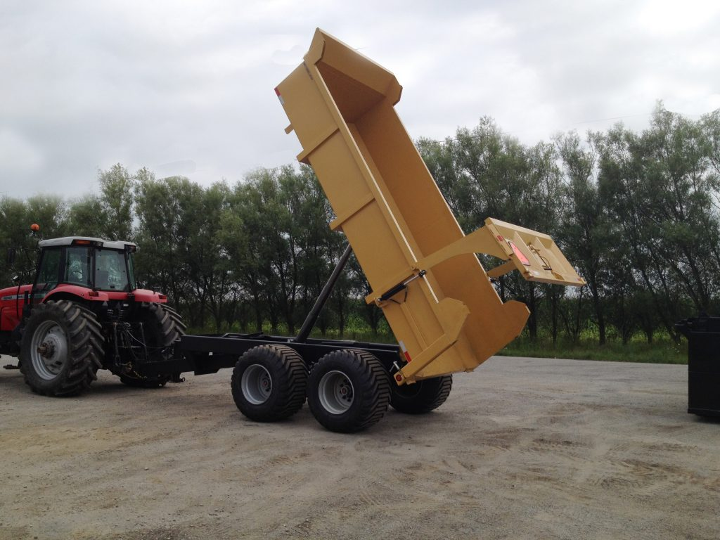 heavy duty 20 ton farm dump trailer 2
